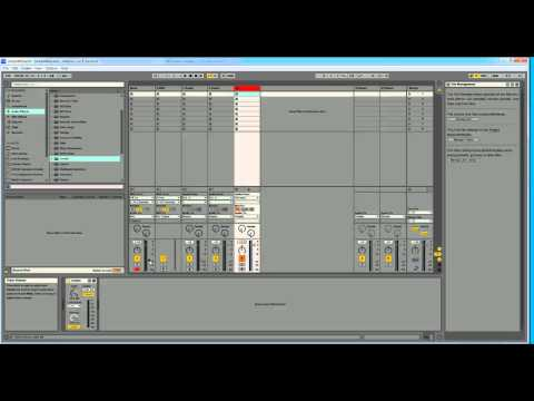 How I work with Ableton Live 9 Standard - 1 / 6