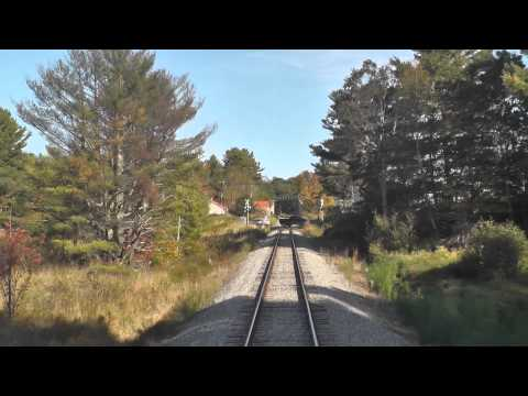 Maine Eastern Railroad - Ride From The Rear - Part 2
