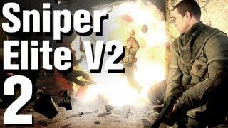 Sniper Elite V2 Walkthrough Part 2 - Schönenberg Convoy