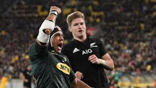 All Blacks V South Africa 1st TEST review 2018