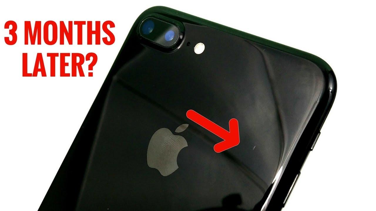 iPhone 7 Plus Jet Black - 3 Months Later