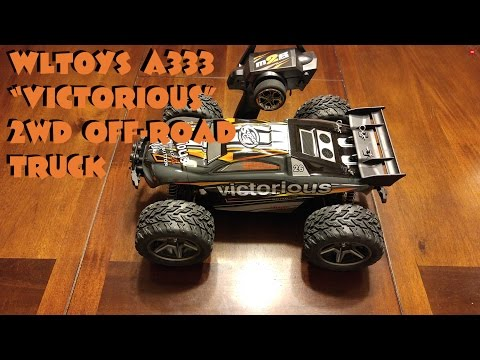 """WLTOYS a333 """"Victorious"""" R/C 2WD off-road truck"""