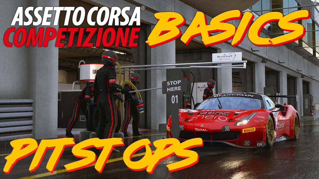 PowerQ talks pitstops on Assetto Corsa Competizione