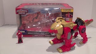 wild force red lion review power rangers super megaforce