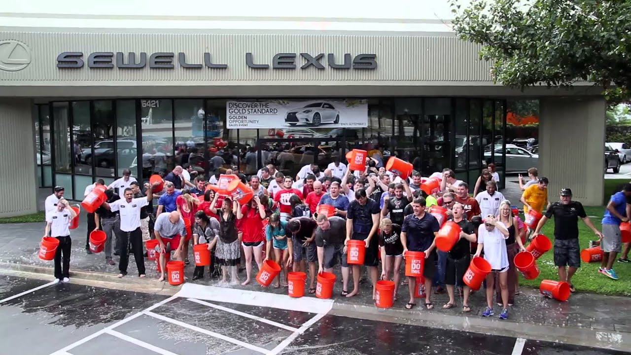 Lovely Sewell Lexus Dallas U003eu003e Sewell Automotive Dallas Area Stores   ALS Ice  Bucket Challenge