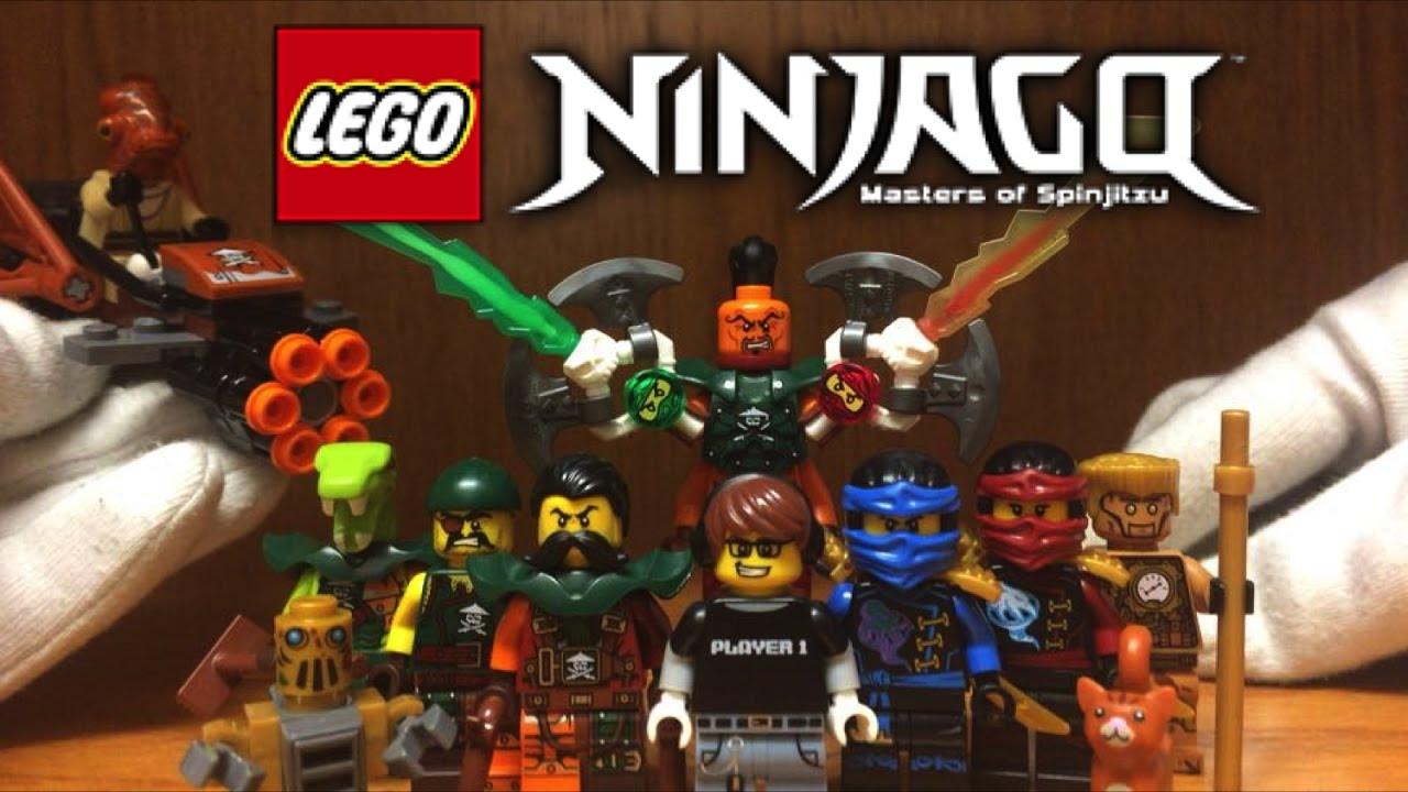 Lego ninjago minifigures review lighthouse siege skybound - Ninjago saison 3 ...