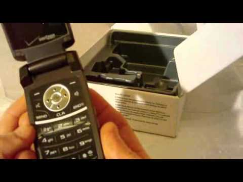 Samsung Renown Unboxing
