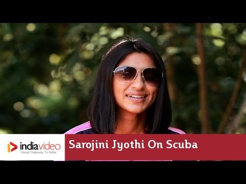 Sarojini Jyothi on Scuba Diving in Thailand