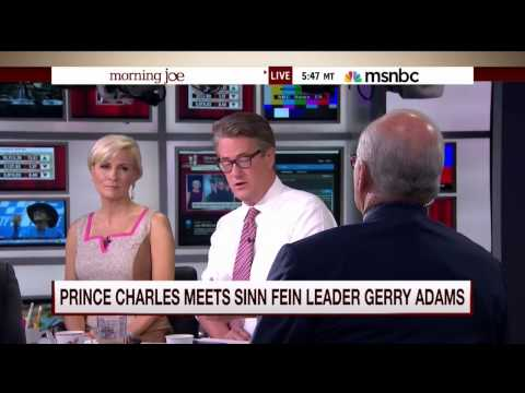 Mike Barnicle on the historic handshake between Prince Charles and Gerry Adams (20 May 2015)
