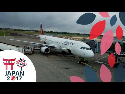 Japan Flight Vlog Day 1| Cebu- Osaka Philippine Airlines A321