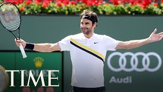 Andre Agassi On Roger Federer And The Next Generation Of Tennis Stars | TIME
