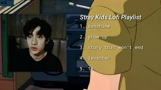 Download lagu stray kids chill lofi playlist // audio remastered (by prod. haze.lee)