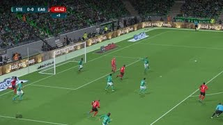 Video Gol Pertandingan Saint-Etienne vs Guingamp