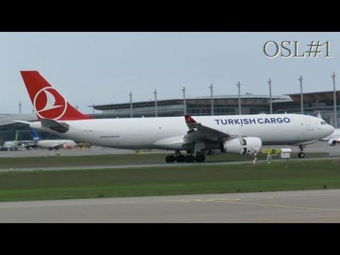 [HD] Plane Spotting @ Oslo Airport, Gardermoen: Episode-1