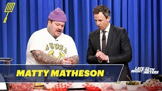 Matty Matheson Teaches Seth How to Make the World's Best Cheeseburger