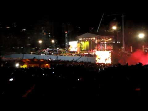 Spain national football team singing on main stage (FULL HD) @ Madrid World Cup 2010 Celebration