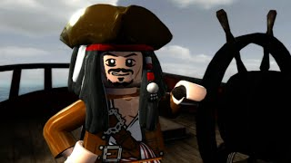 LEGO Pirates of the Caribbean Walkthrough Part 2 - Tortuga