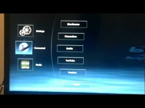 Demonstração BluRay Toshiba BDX2200 USA com Netflix BRA. DNS CHANGE