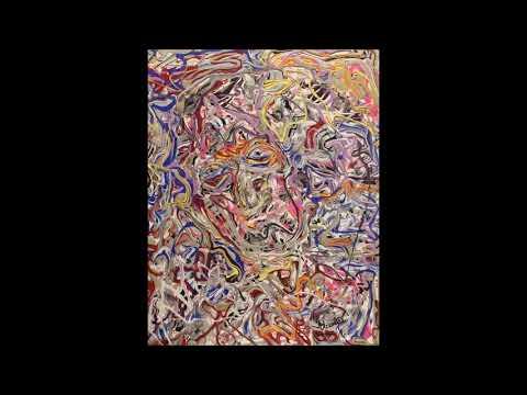 Abstract Paintings By Nicolae Vasilescu junior