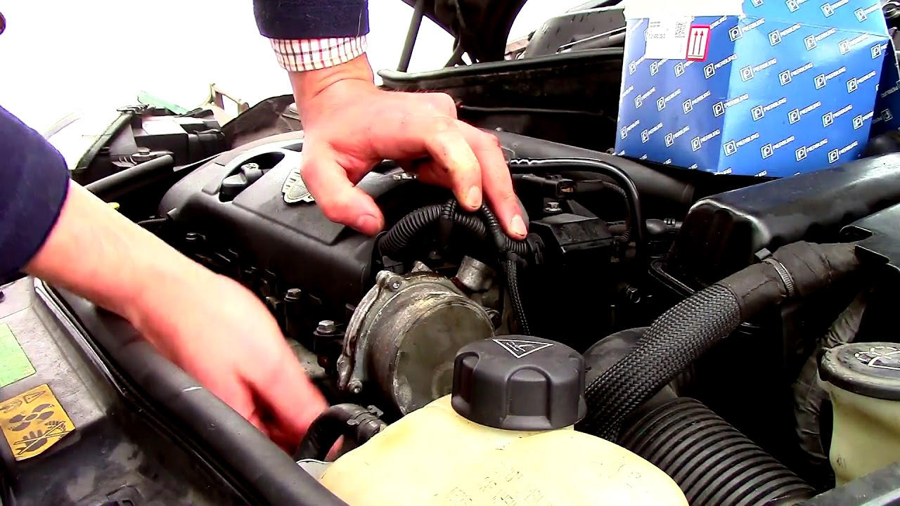 How To Diagnose Replace And Test A Vacuum Brake Pump On Mini 2008 Cooper Timing Belt Clubman 16 Petrol R55 2007