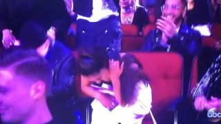 Ariana Grande wins 'Artist Of The Year' @ AMAs 2016