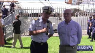 US Coast Guard Eagle Visits Bermuda, June 29 2013