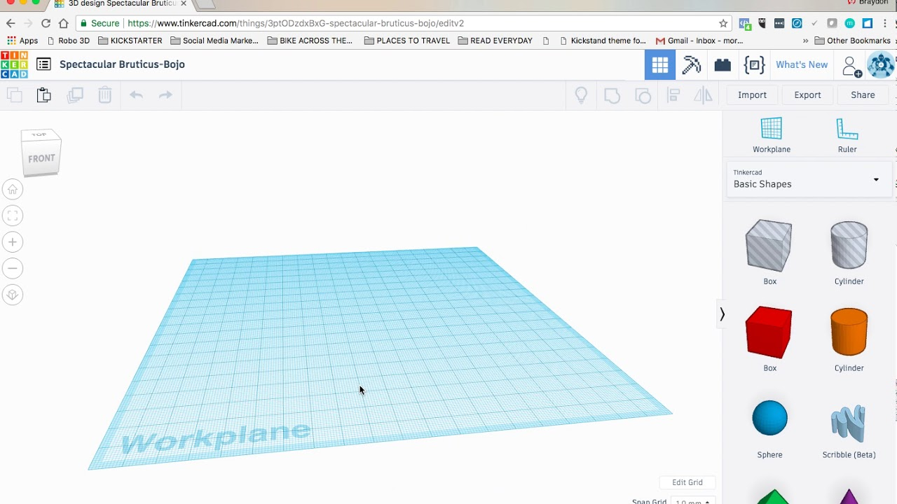 How To: Basic 3D Design using Tinkercad   ROBO 3D