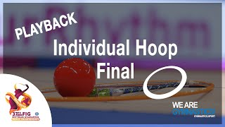 FIG WORLD CHAMPIONSHIP REPLAY: 2019 Rhythmic Gymnastics Hoop Final
