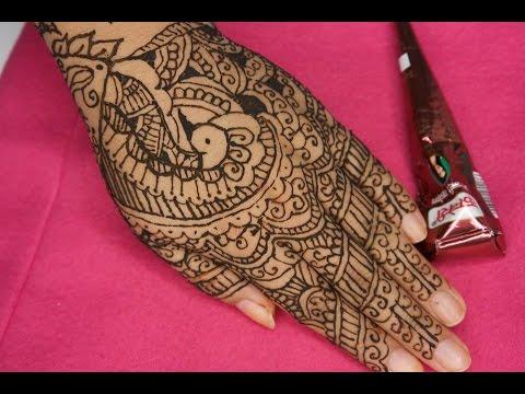 Cmo hacer un tatuaje temporal Diseo con Henna Juancarlos960