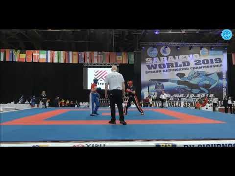 Ольга Григорьева - финал чемпионата мира по кикбоксингу вк 55 кг, WAKO World Championships 2019