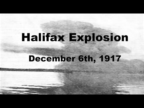 Largest Man-made, Non-Nuclear Explosion - The Halifax Explosion