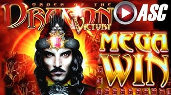 *BIG WIN!* ORDER OF THE DRAGON (VICTORY) | DOUBLE SWEET ZONE Slot Machine Bonus (Ainsworth)