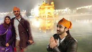 WE WENT TO THE GOLDEN TEMPLE AT ZERO TEMPERATURE!! 🥶 🥶🙏🏻