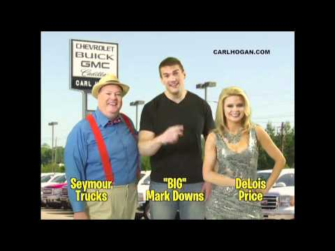 "We ve got ""BIG"" Mark Downs at Carl Hogan Automotive"