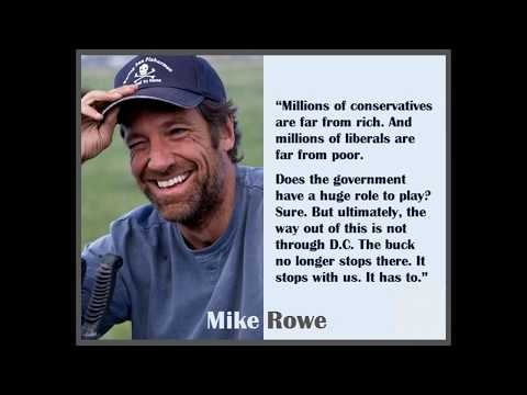 The Untold Truth By Mike Rowe from Dirty Jobs