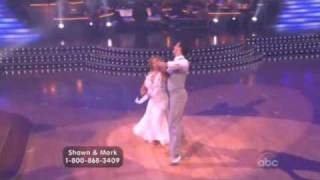 Shawn Johnson and Mark Ballas Dancing with the Stars Viennese Waltz
