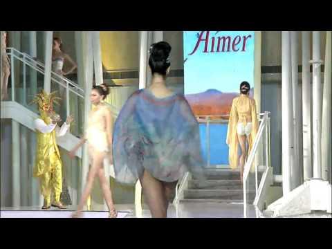 Michela muratori  2014  Aimer fashion show Beijing undearwear