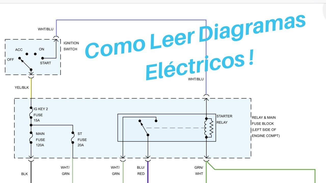 Como Leer Un Diagrama De Circuito El U00e9ctrico  Autom U00f3vil