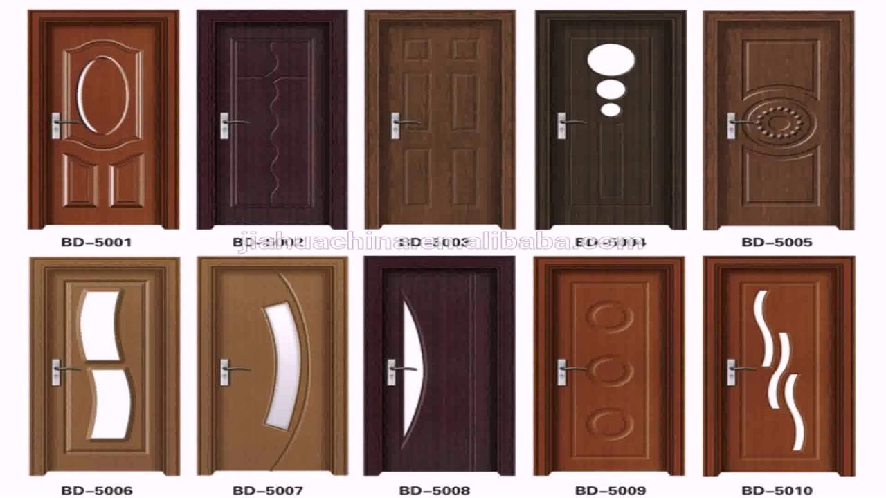 Wooden Single Door Designs For Indian Homes - YouTube