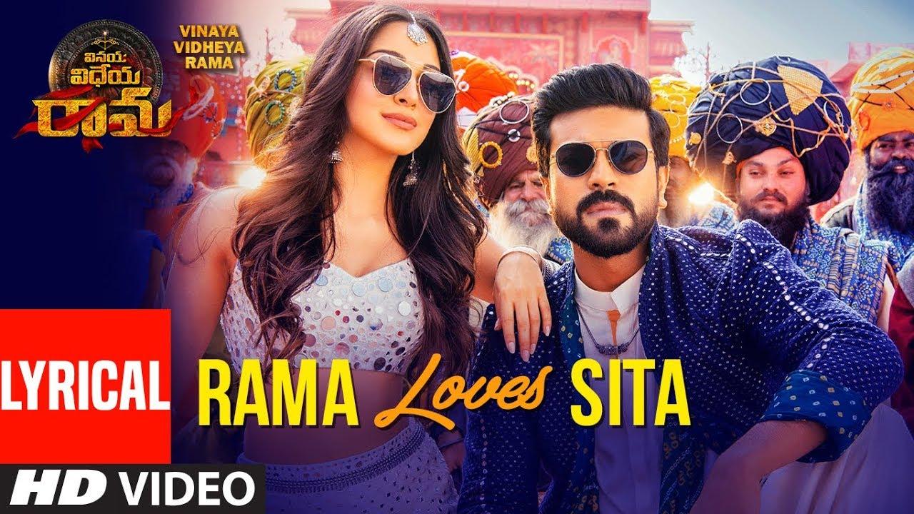 Rama Loves Seeta Song With Lyrics | Vinaya Vidheya Rama | Ram Charan, Kiara Advani, Vivek Oberoi