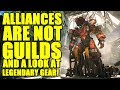 Anthem   Alliances are NOT clans, Look at Legendary gear, NEWS UPDATE!