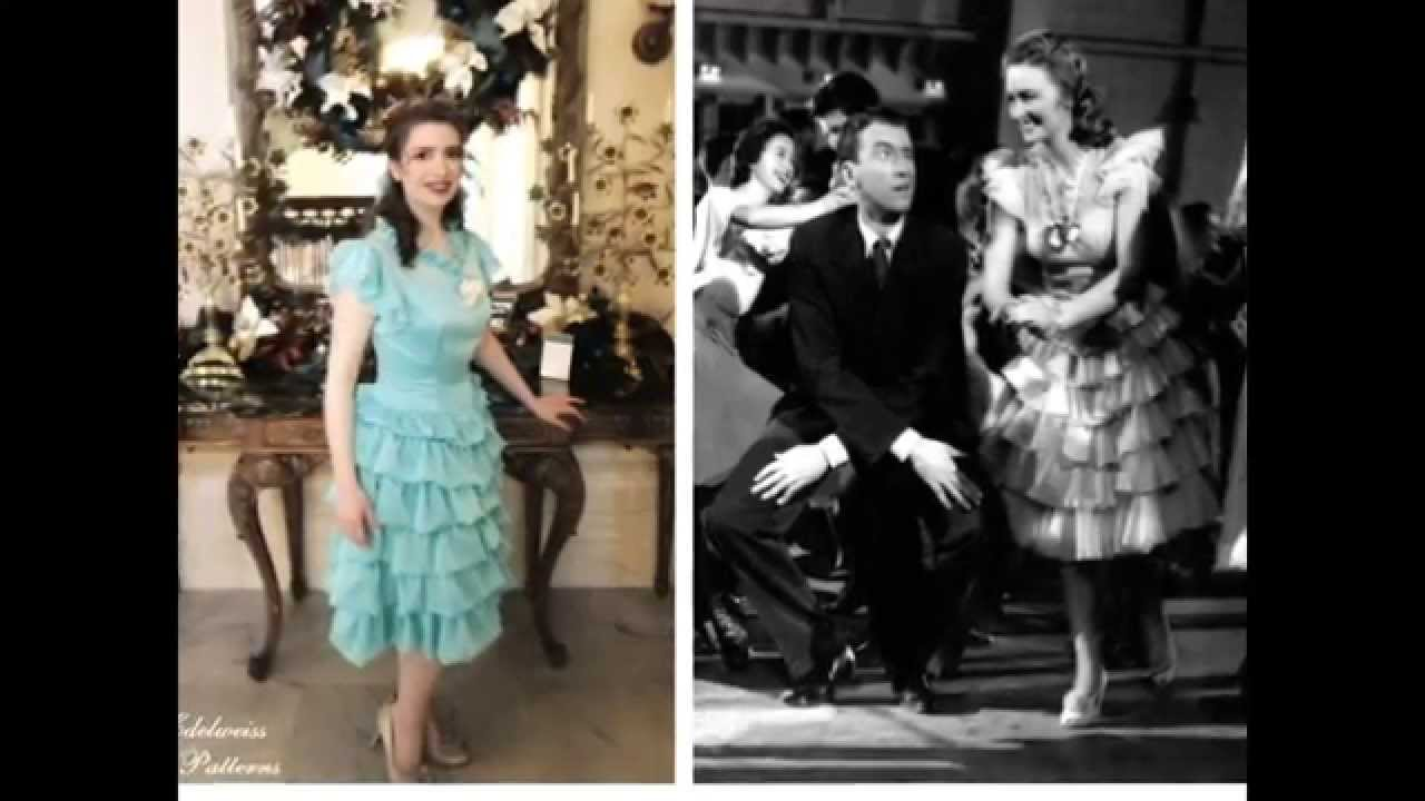 It 39 S A Wonderful Life Costume Donna Reed 39 S Dancing Dress Youtube