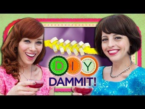 How-To Make a Friendship Bracelet f. Alie Ward & Georgia Hardstark - DIY Dammit!