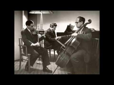 Haydn - Piano trio Hob.XV:16 - Kogan / Rostropovich / Gilels London 1959