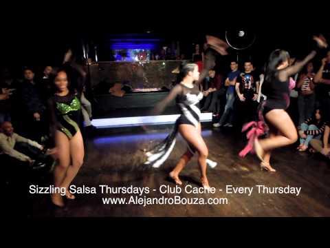 Sizzling Salsa Thursdays - Amanda Estilo Ladies - Salsa