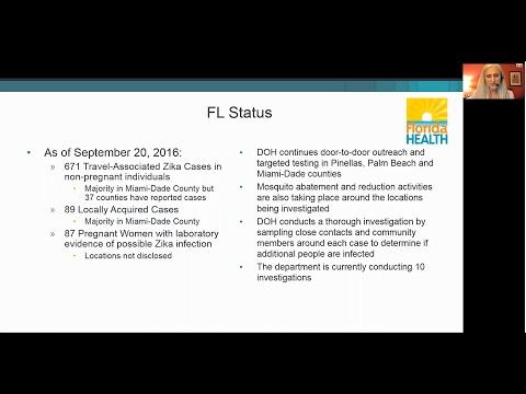 Florida Zika Health Ministers Guide Webinar
