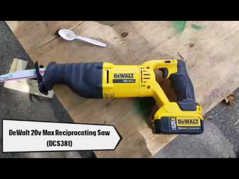 Dewalt 20v max reciprocating saw review dcs381 youtube dewalt 20v max reciprocating saw review dcs381 greentooth Gallery