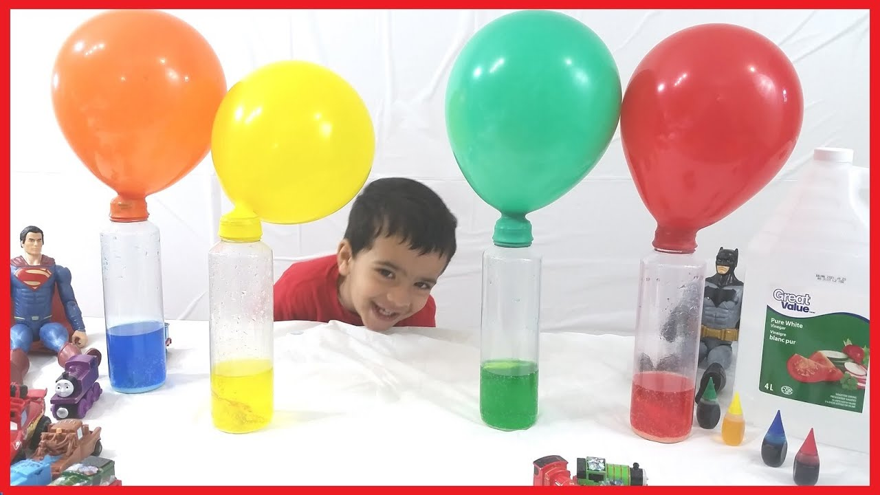 a research on inflating a balloon using household products mixed with vinegar With so many different vinegar uses around the house, this trusted item deserves a special place in your pantry to remove marks left by wet glasses on wood furniture, mix equal parts vinegar and olive oil and apply it try these vinegar uses around the outside of your home to give it an update.