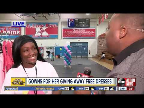 Gowns for Her giving away free dresses to teen girls in need