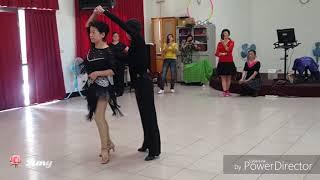 艾莉斯雙人舞💞愛江山更愛美人(倫巴)